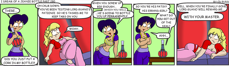Jeanie Bottle 280
