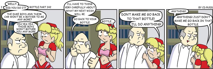 Jeanie Bottle 342