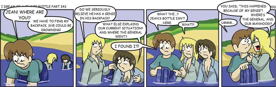 Jeanie Bottle 343