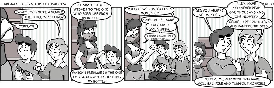 Jeanie Bottle 374