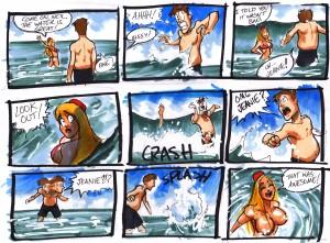 I Dream of a Jeanie Bottle - Beach Wave 1 by soycrisp