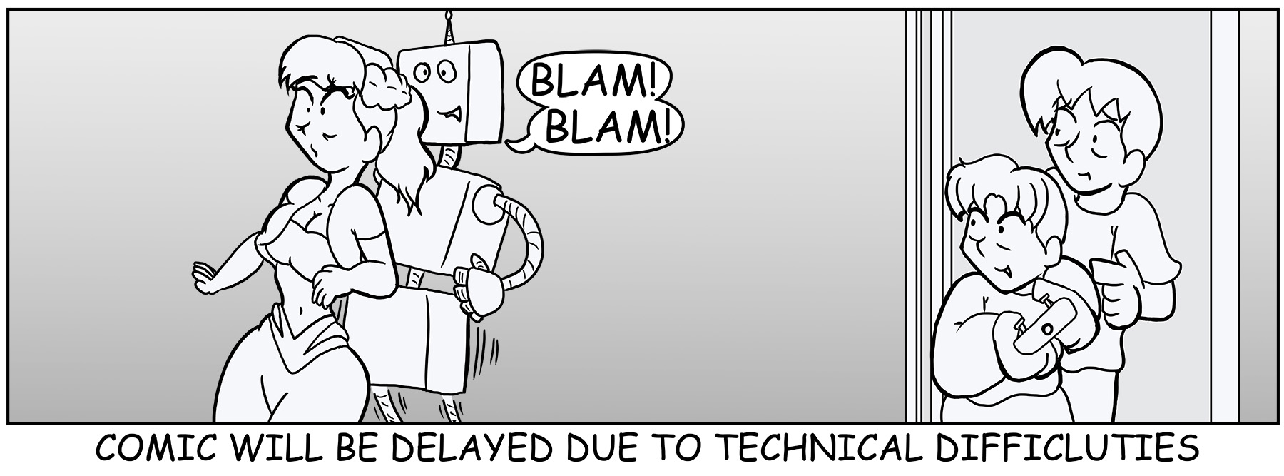 Comic Delay