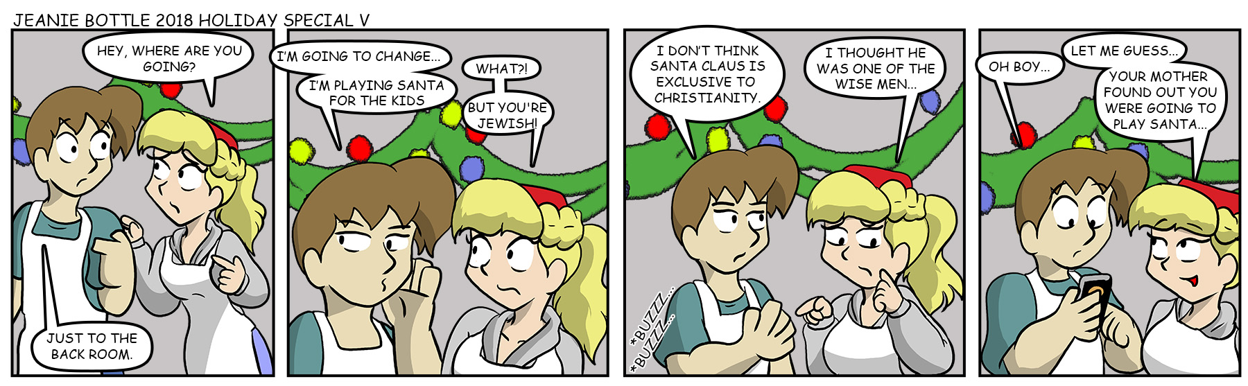 Jeanie Bottle Christmas Special – Page 5