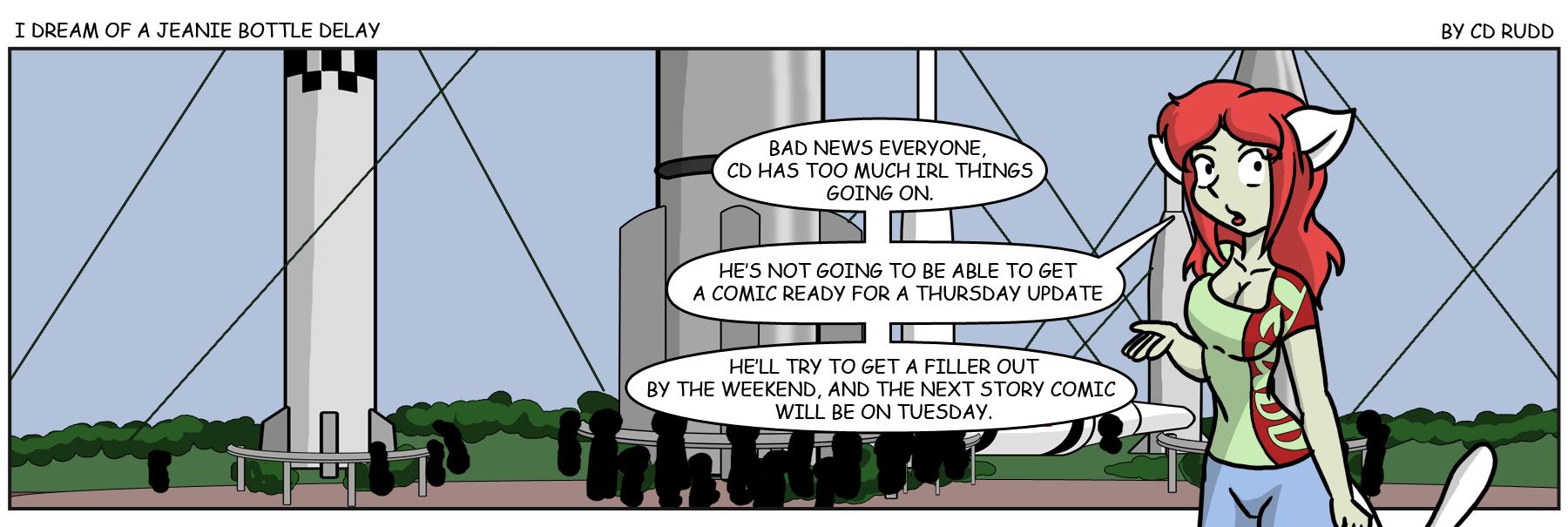 Filler – JB Delayed till next week